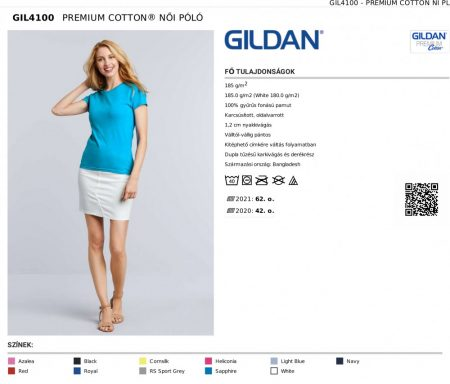 Gildan 4100 premium